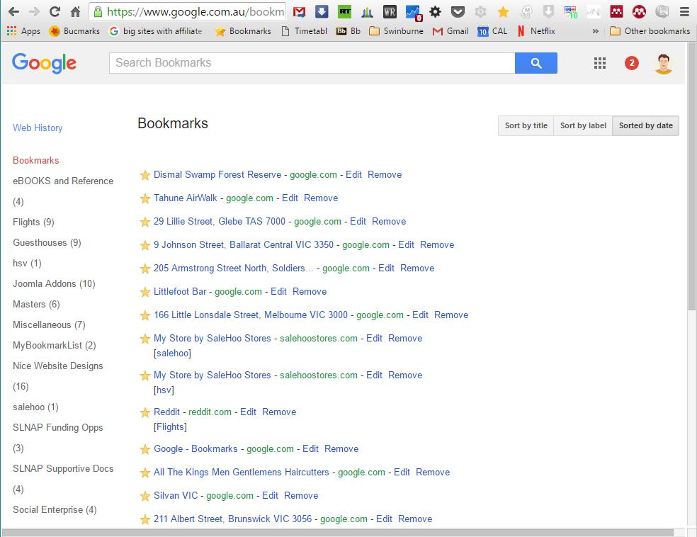 Best Bookmark Manager - Google Bookmarks Desktop