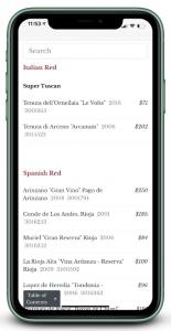 binwise qr menu